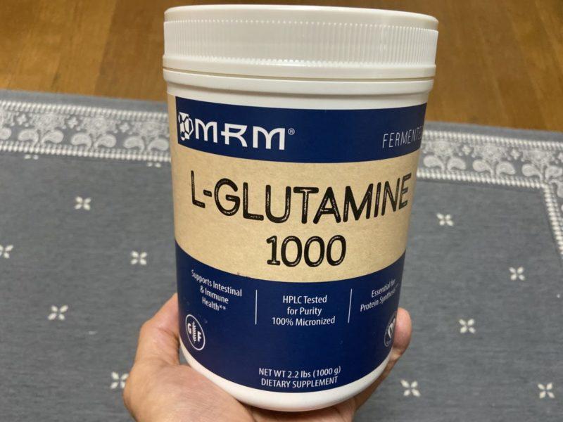 アメリカ大手のサプリ会社「MRM」のグルタミン