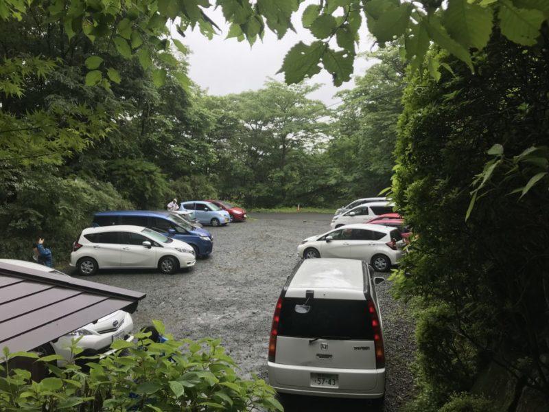 金時駐車場
