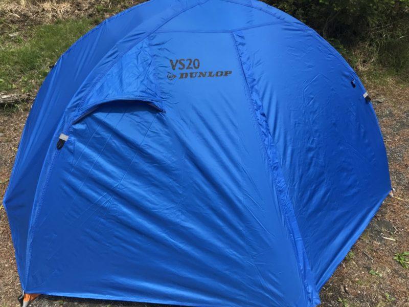 綺麗なテント