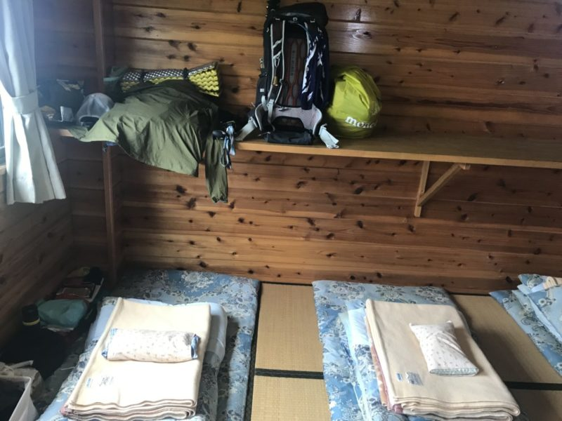 新越山荘の部屋