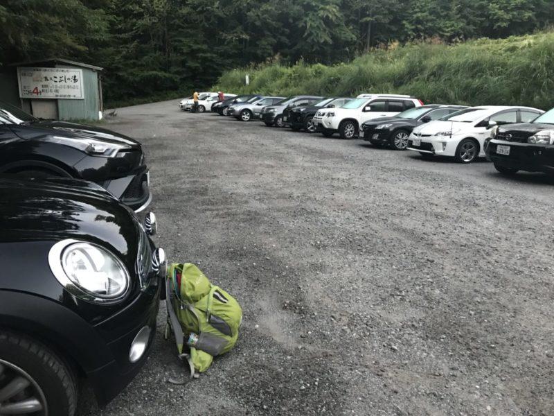 駒ヶ根高原スキー場の駐車場