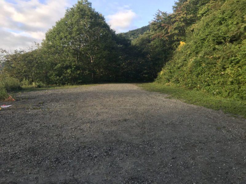 池山林道終点駐車場