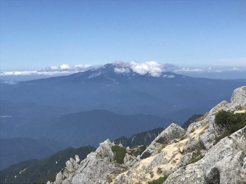 空木岳からの御嶽山