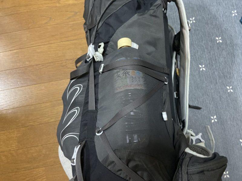オスプレー タロン サイドポケット